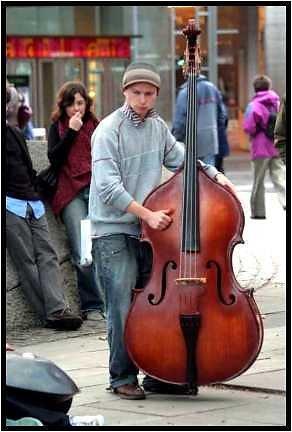 Londoner Skizzen - StreetMusic